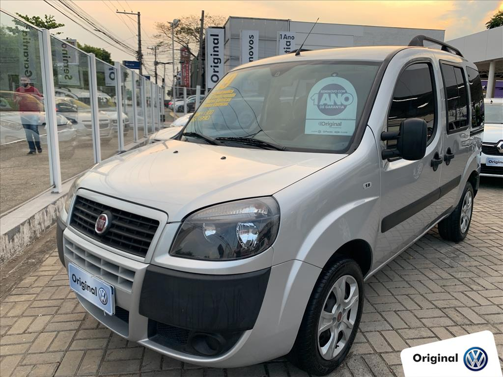 FIAT DOBLÒ 2019 - 1.8 MPI ESSENCE 7L 16V FLEX 4P MANUAL