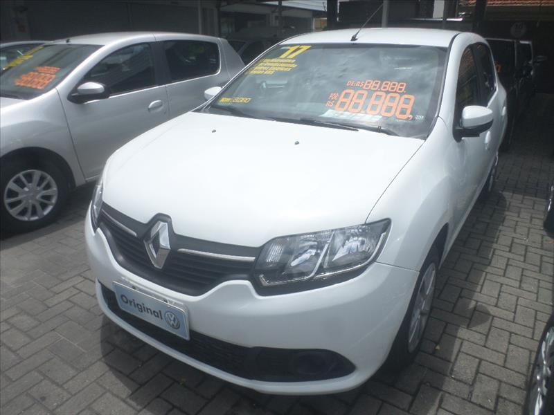 RENAULT SANDERO 2017 - 1.6 EXPRESSION 8V FLEX 4P MANUAL