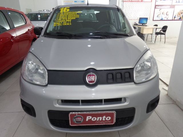 FIAT UNO 2016 - 1.0 EVO ATTRACTIVE 8V FLEX 4P MANUAL
