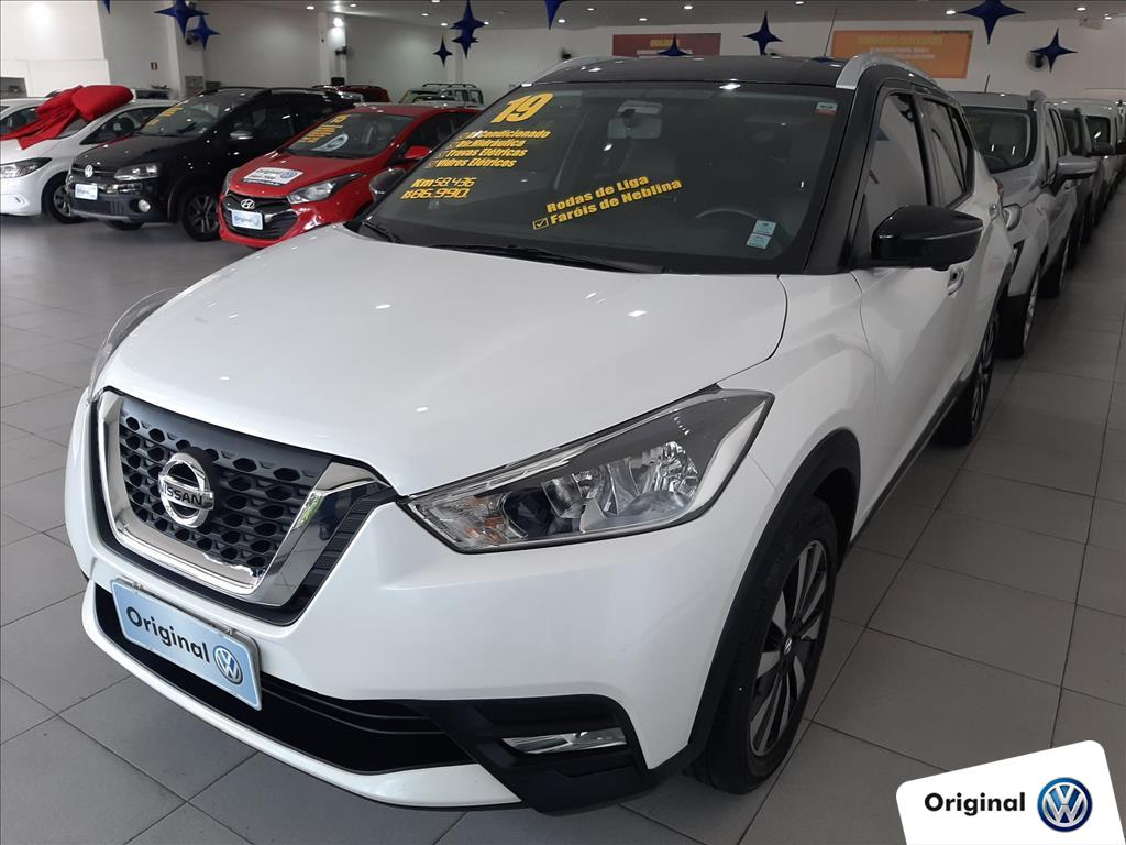 NISSAN KICKS 2019 - 1.6 16V FLEXSTART S DIRECT 4P XTRONIC