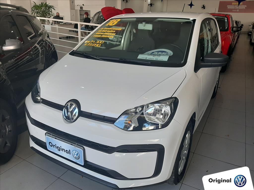 VOLKSWAGEN UP 2018 - 1.0 MPI TAKE UP 12V FLEX 4P MANUAL