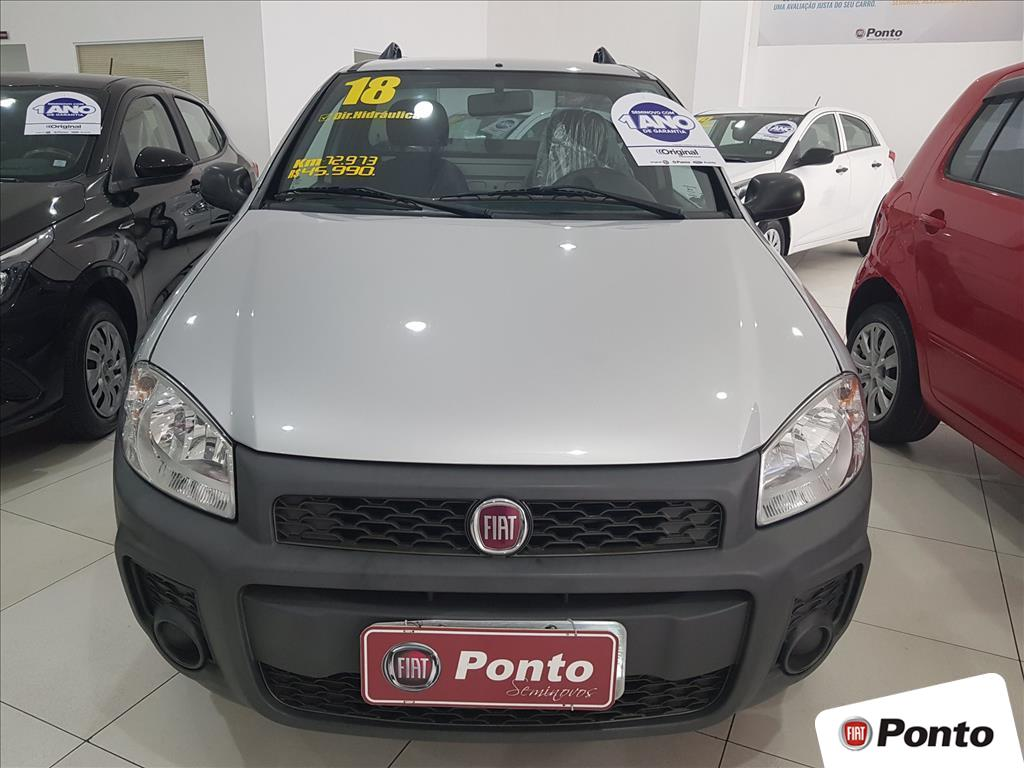 FIAT STRADA 2018 - 1.4 MPI WORKING CS 8V FLEX 2P MANUAL