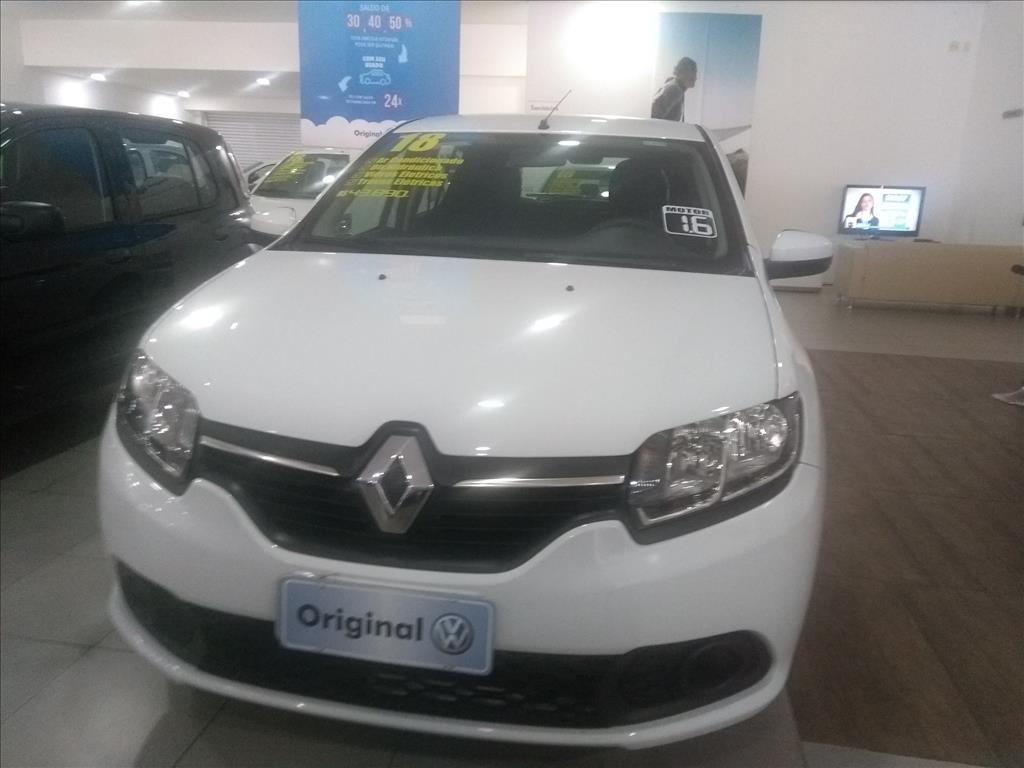 RENAULT SANDERO 2018 - 1.6 16V SCE FLEX EXPRESSION 4P MANUAL