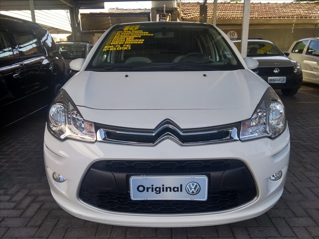 CITROËN C3 2018 - 1.6 VTI 120 FLEX START ATTRACTION EAT6