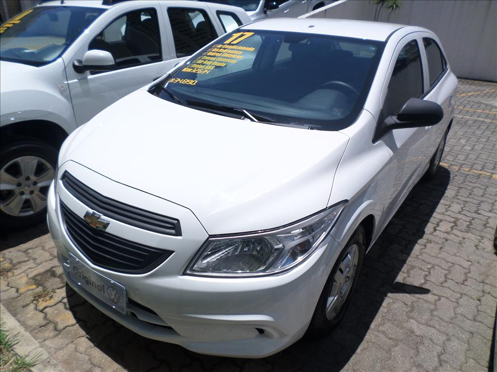 CHEVROLET ONIX 2017 - 1.0 MPFI JOY 8V FLEX 4P MANUAL