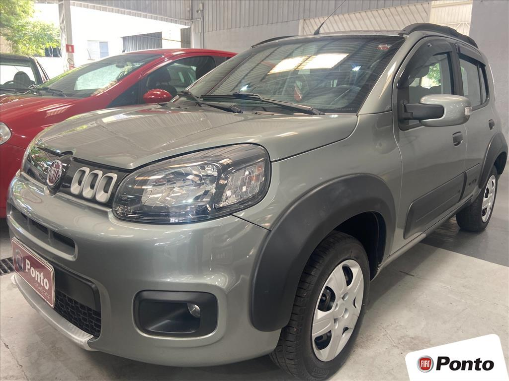 FIAT UNO 2016 - 1.0 EVO WAY 8V FLEX 4P MANUAL