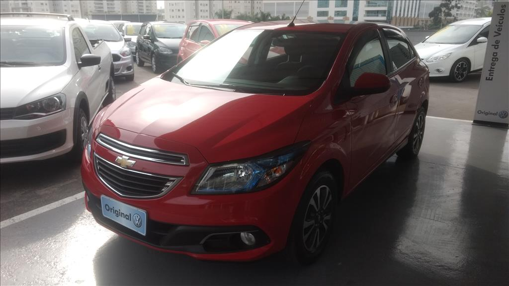 CHEVROLET ONIX 2015 - 1.4 MPFI LTZ 8V FLEX 4P MANUAL