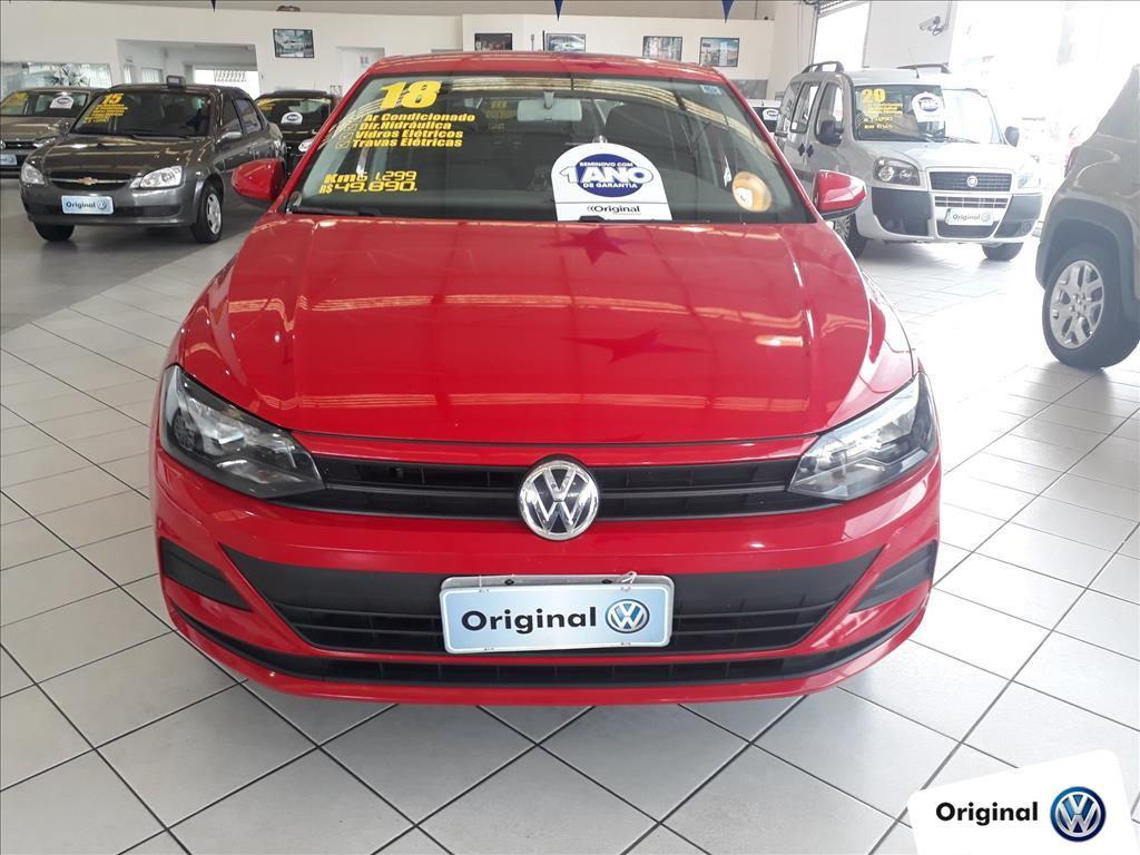 VOLKSWAGEN POLO 2018 - 1.0 MPI TOTAL FLEX MANUAL