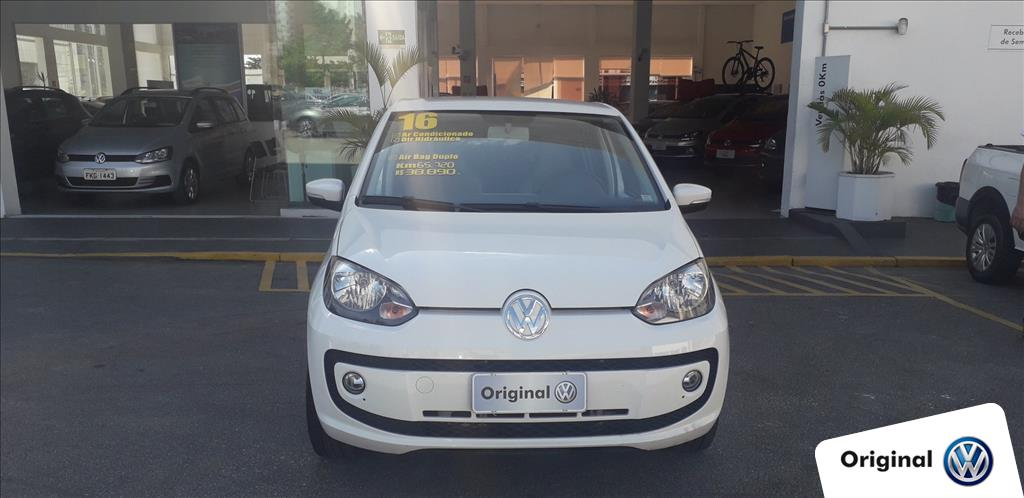 VOLKSWAGEN UP 2016 - 1.0 TSI MOVE UP 12V FLEX 4P MANUAL