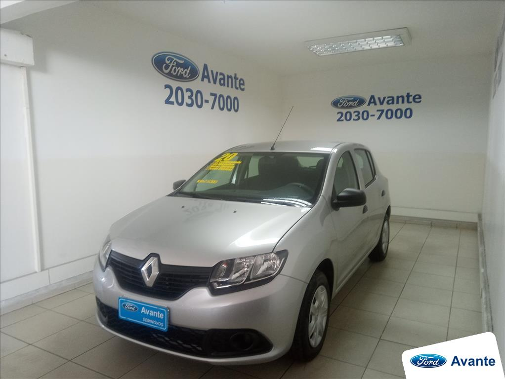 RENAULT SANDERO 2020 - 1.0 12V SCE FLEX AUTHENTIQUE 4P MANUAL