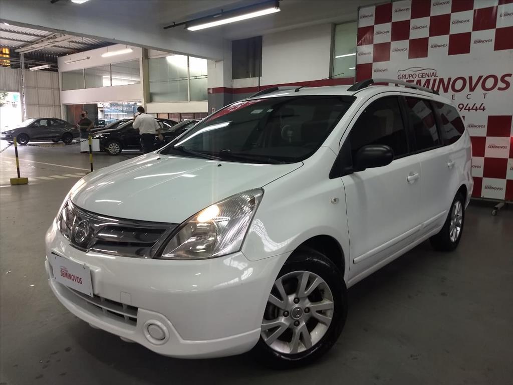 Image Nissan-Livina-1.8 S 16v Flex 4p Automático-566259