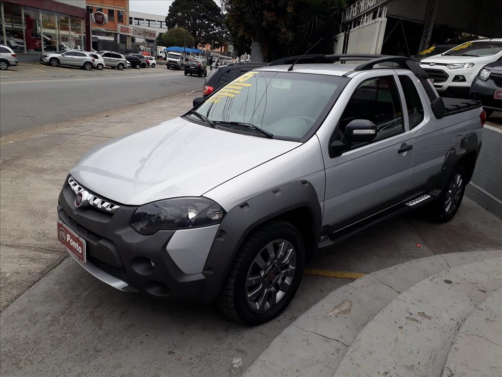 FIAT STRADA 2015 - 1.8 MPI ADVENTURE CE 16V FLEX 2P MANUAL