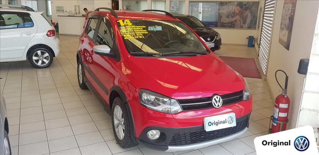 VOLKSWAGEN CROSSFOX 2014 - 1.6 MI FLEX 8V 4P MANUAL
