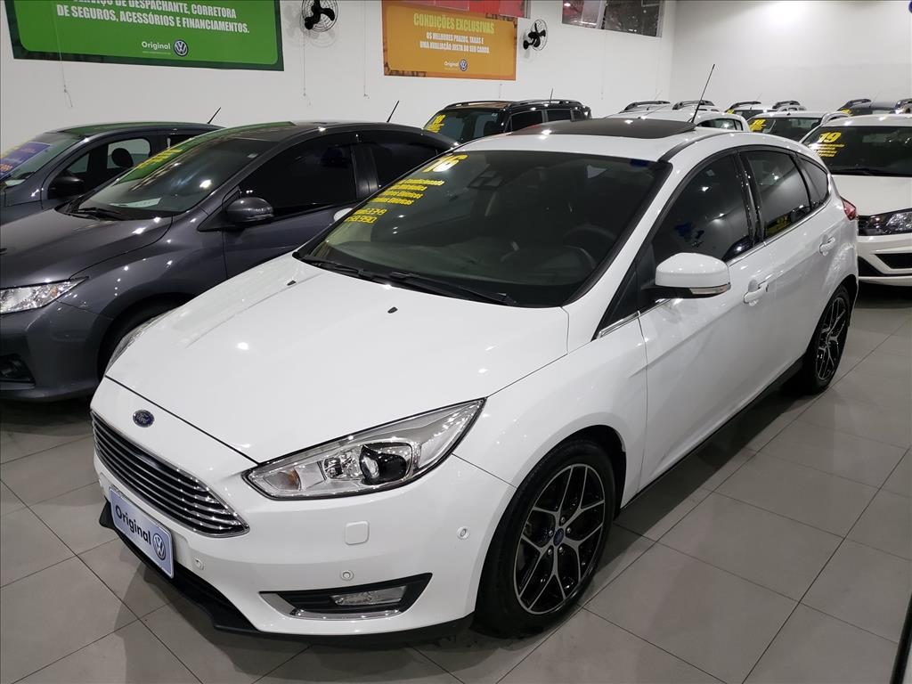 FORD FOCUS 2016 - 2.0 TITANIUM FASTBACK 16V FLEX 4P POWERSHIFT