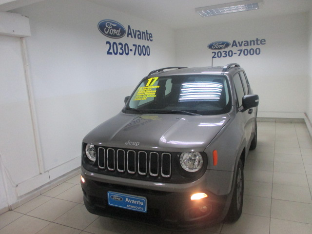 JEEP RENEGADE 2017 - 1.8 16V FLEX SPORT 4P MANUAL