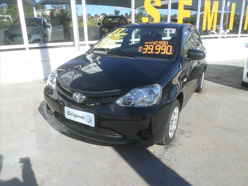 TOYOTA ETIOS 2017 - 1.3 X 16V FLEX 4P MANUAL