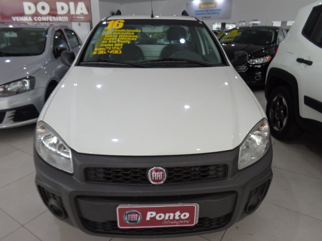 FIAT STRADA 2016 - 1.4 MPI WORKING CS 8V FLEX 2P MANUAL