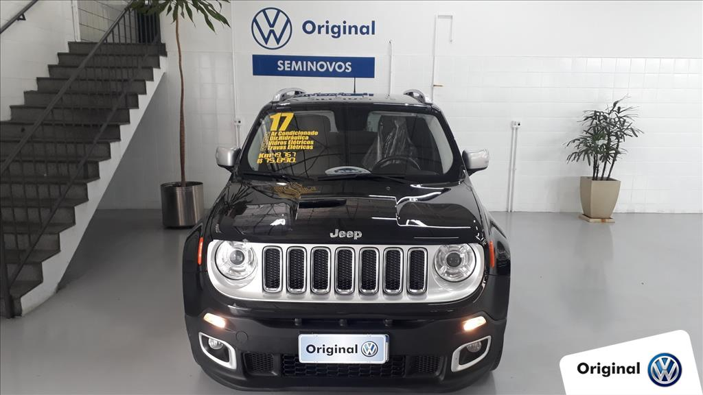 JEEP RENEGADE 2017 - 1.8 16V FLEX LIMITED 4P AUTOMÁTICO