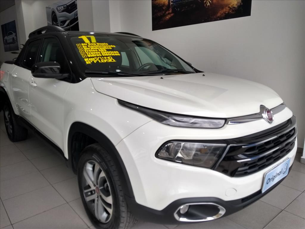 FIAT TORO 2017 - 2.4 16V MULTIAIR FLEX FREEDOM AUTOMÁTICO
