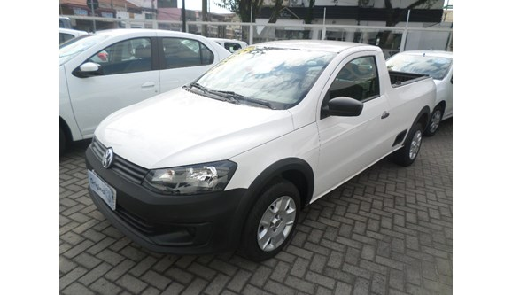 VOLKSWAGEN SAVEIRO 2016 - 1.6 MI STARTLINE CS 8V FLEX 2P MANUAL