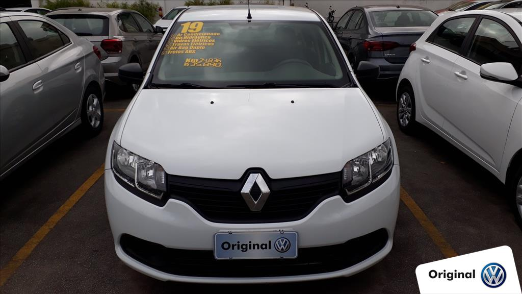 RENAULT LOGAN 2019 - 1.0 12V SCE FLEX AUTHENTIQUE 4P MANUAL