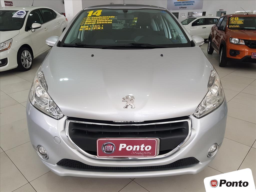 PEUGEOT 208 2014 - 1.5 ALLURE 8V FLEX 4P MANUAL