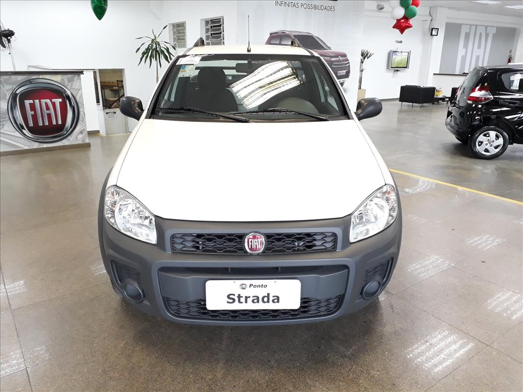 FIAT STRADA 2019 - 1.4 MPI HARD WORKING CS 8V FLEX 2P MANUAL