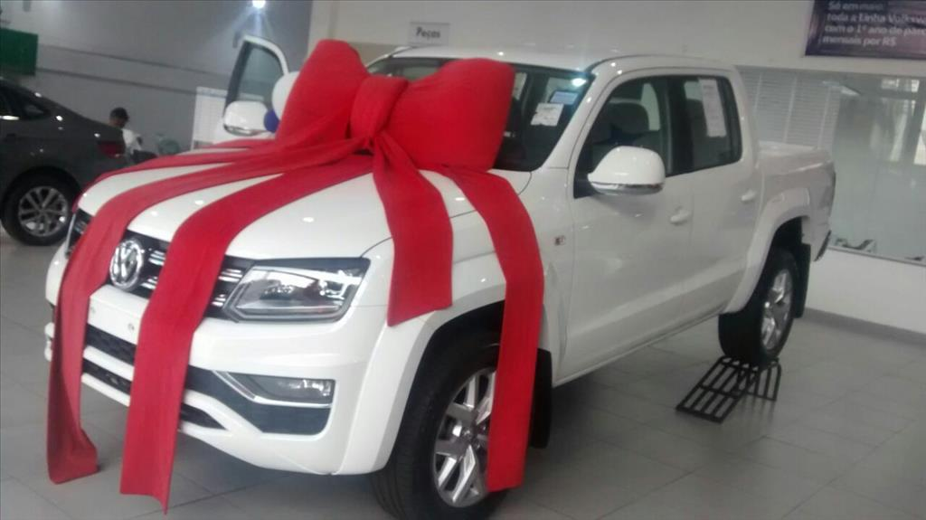 VOLKSWAGEN AMAROK 2018 - 2.0 HIGHLINE 4X4 CD 16V TURBO INTERCOOLER DIESEL 4P AUTOMÁTICO