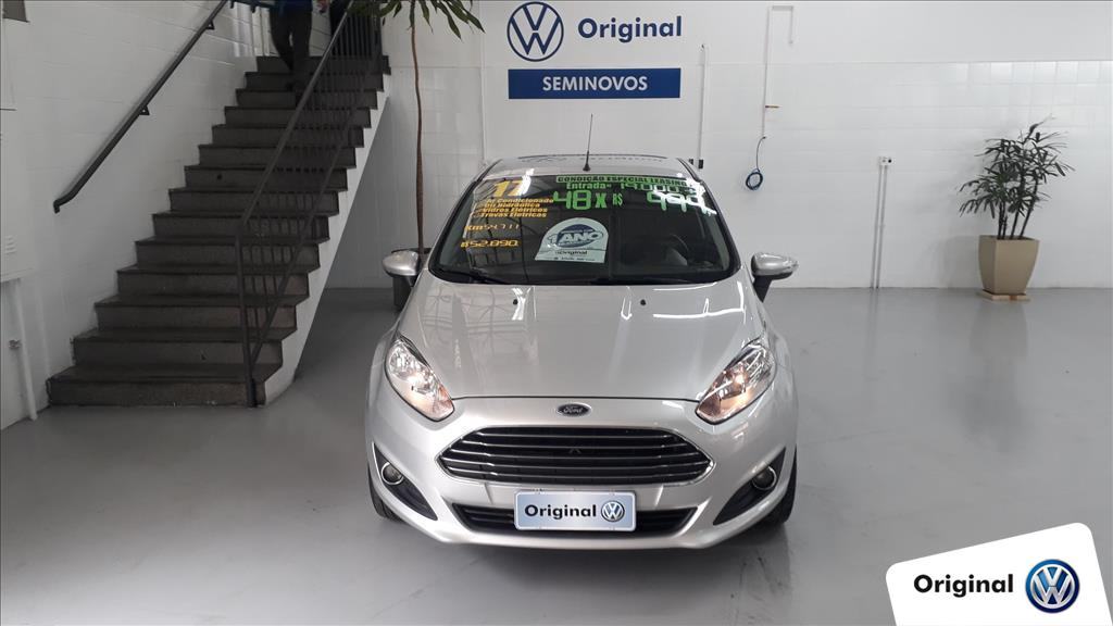 FORD FIESTA 2017 - 1.6 TITANIUM HATCH 16V FLEX 4P MANUAL