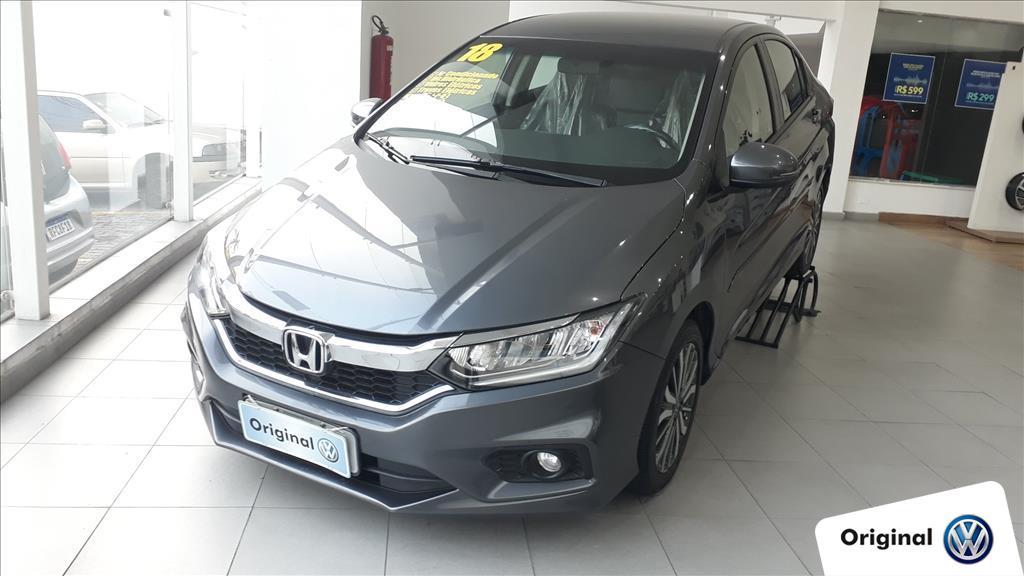 HONDA CITY 2018 - 1.5 EXL 16V FLEX 4P AUTOMÁTICO