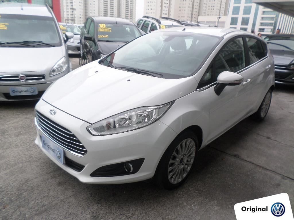 FORD FIESTA 2017 - 1.0 ECOBOOST TITANIUM HATCH 12V GASOLINA 4P POWERSHIFT