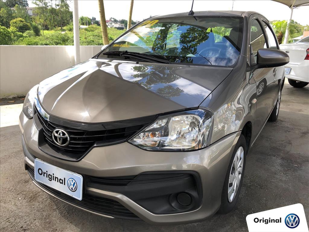 TOYOTA ETIOS 2020 - 1.3 X 16V FLEX 4P MANUAL