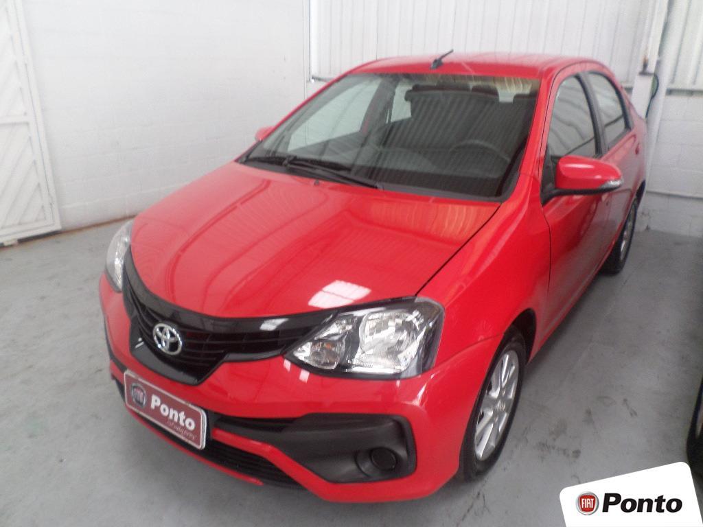 TOYOTA ETIOS 2019 - 1.5 X PLUS 16V FLEX 4P AUTOMÁTICO