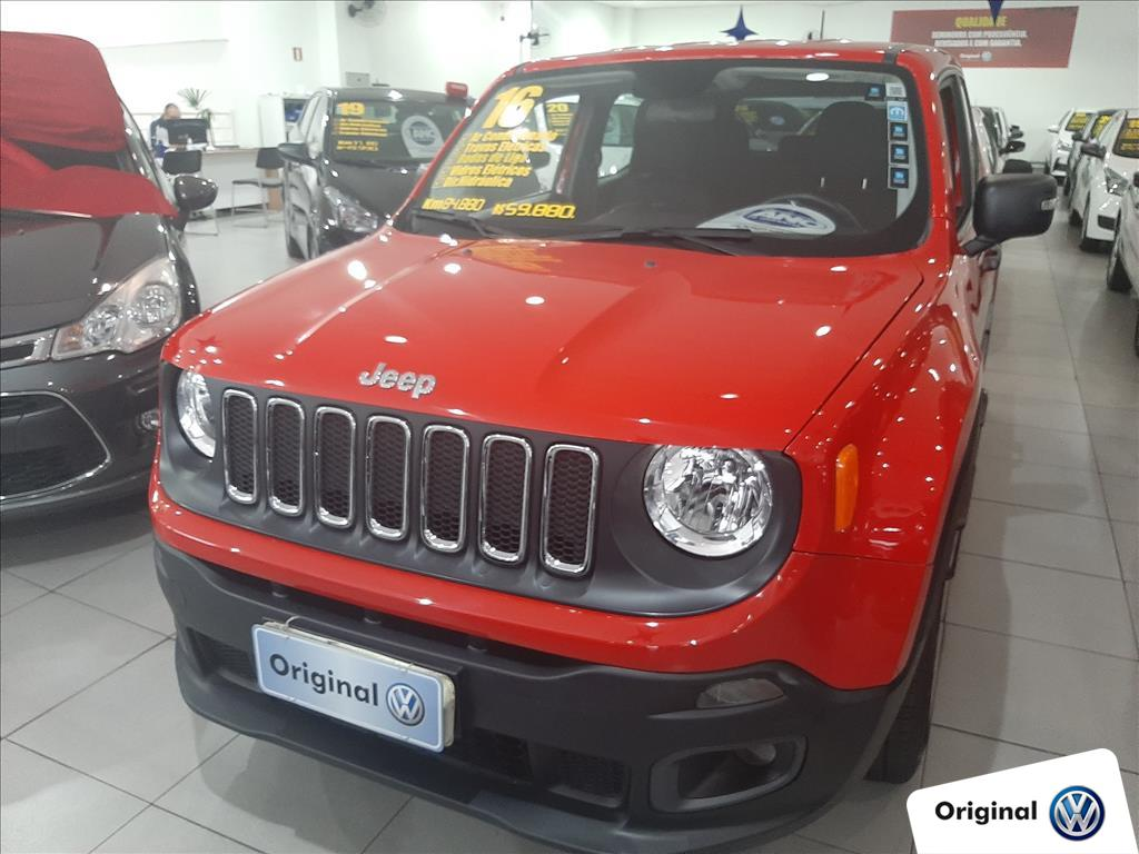 JEEP RENEGADE 2016 - 1.8 16V FLEX SPORT 4P MANUAL