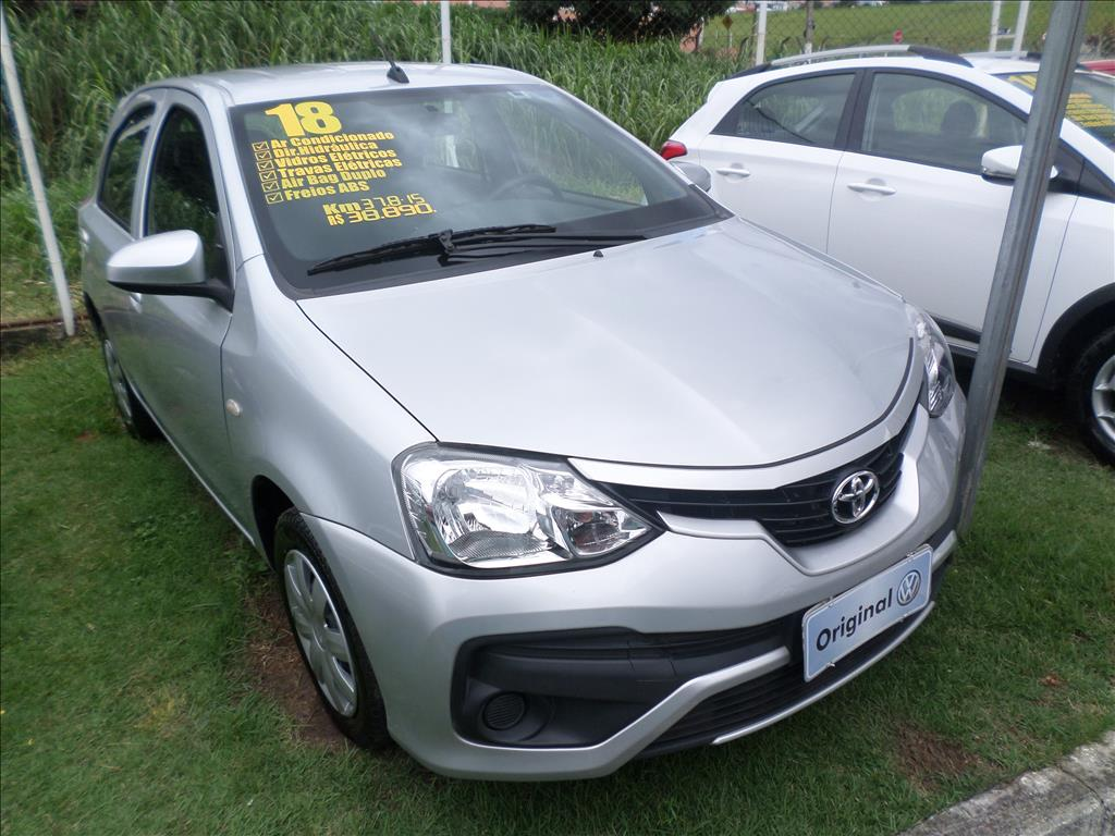 TOYOTA ETIOS 2018 - 1.3 X 16V FLEX 4P MANUAL