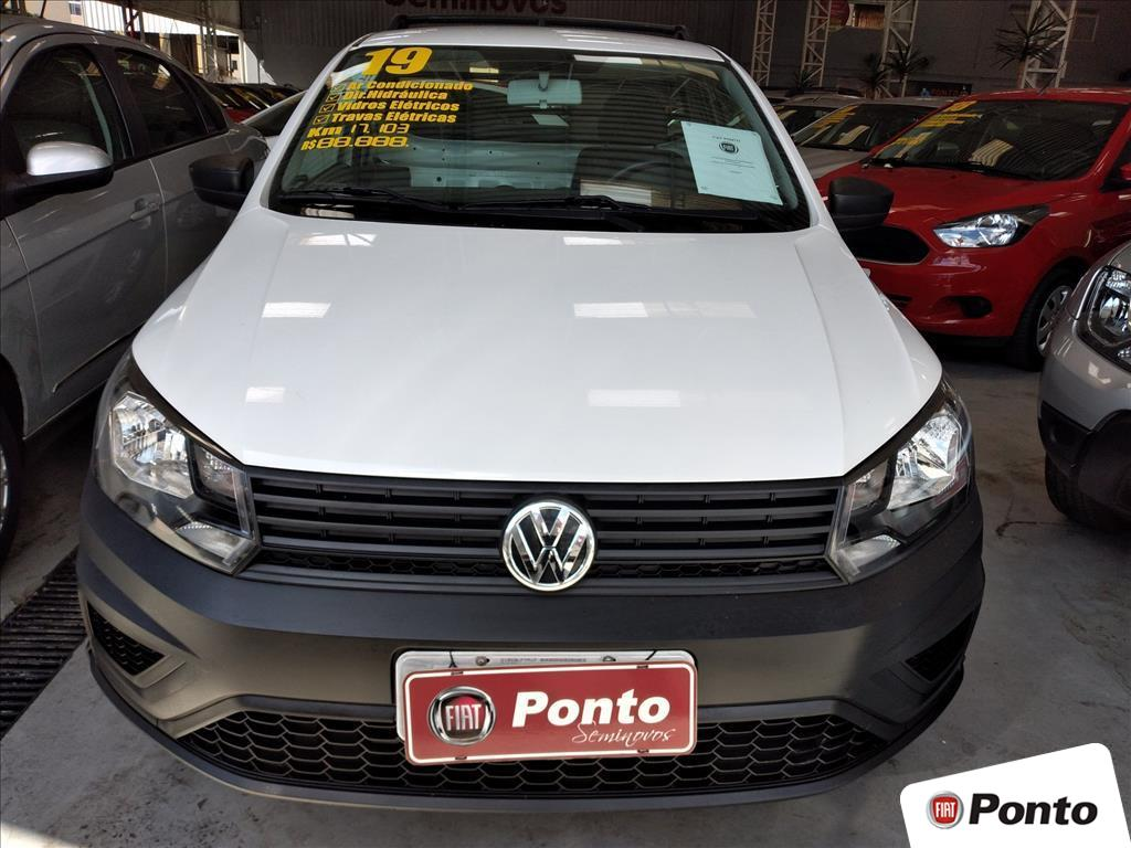 VOLKSWAGEN SAVEIRO 2019 - 1.6 MSI ROBUST CS 8V FLEX 2P MANUAL