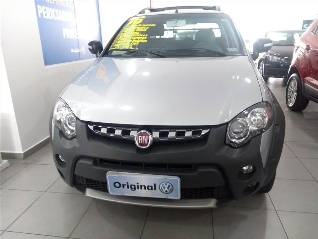 FIAT STRADA 2016 - 1.8 MPI ADVENTURE CE 16V FLEX 2P MANUAL