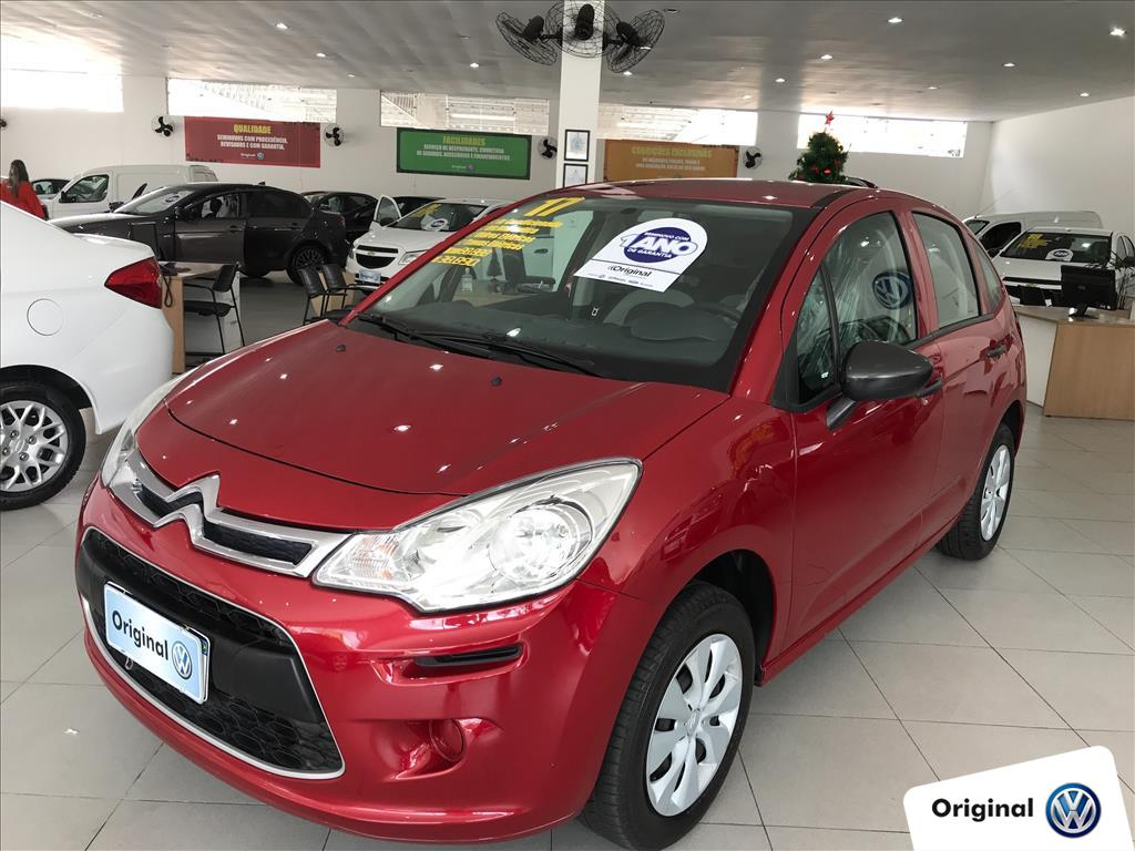CITROËN C3 2017 - 1.2 ORIGINE 12V FLEX 4P MANUAL
