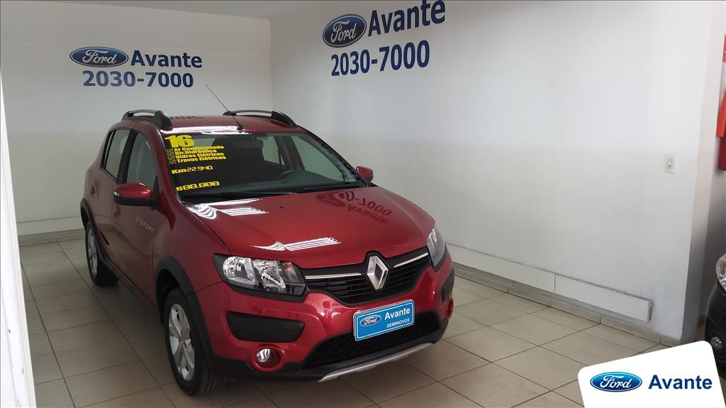 RENAULT SANDERO 2016 - 1.6 STEPWAY 8V FLEX 4P MANUAL