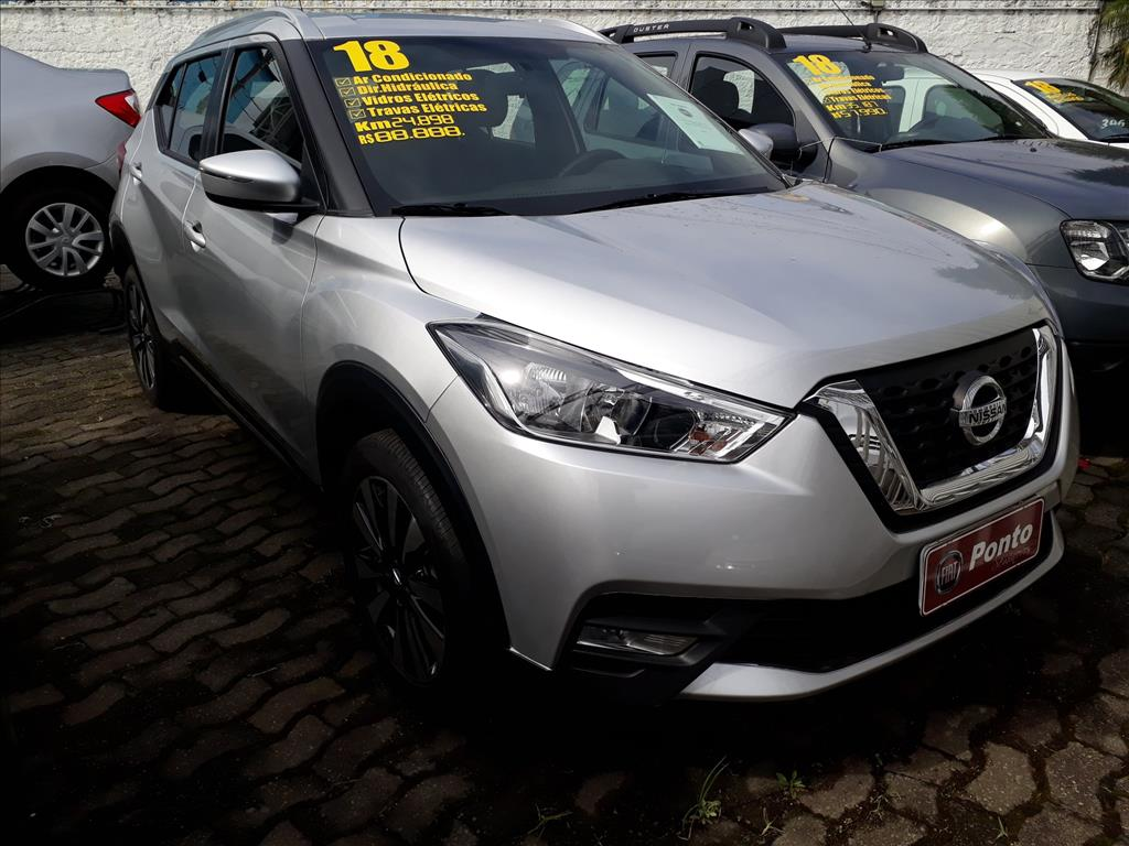 NISSAN KICKS 2018 - 1.6 16V FLEX SV 4P XTRONIC