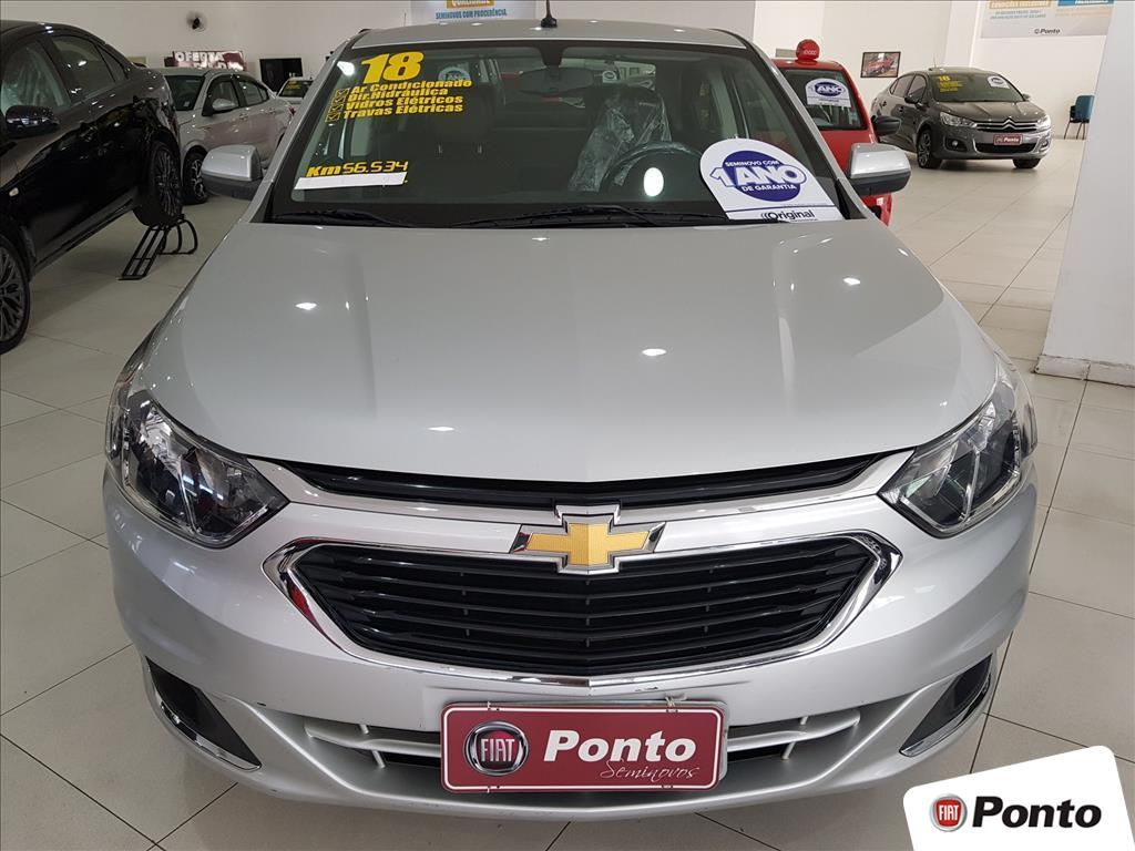 CHEVROLET COBALT 2018 - 1.8 MPFI LTZ 8V FLEX 4P MANUAL