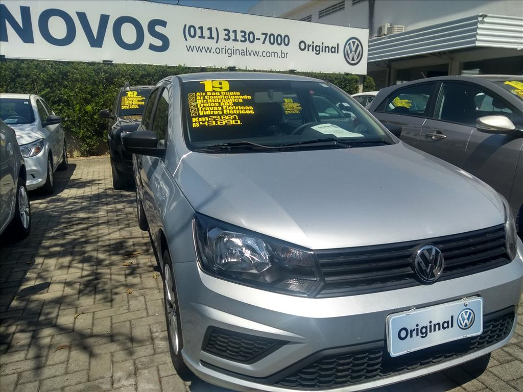 VOLKSWAGEN GOL 2019 - 1.6 MSI TOTALFLEX 4P MANUAL