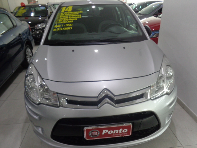 CITROËN C3 2014 - 1.5 ORIGINE 8V FLEX 4P MANUAL