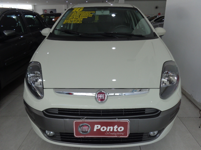 FIAT PUNTO 2016 - 1.6 ESSENCE 16V FLEX 4P MANUAL