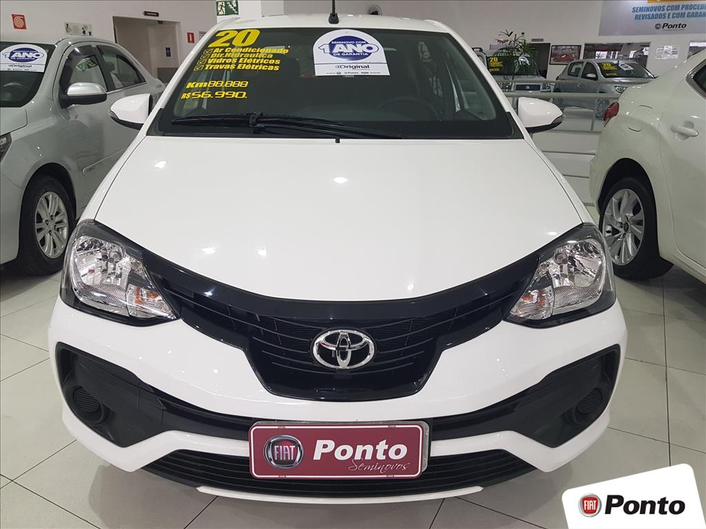 TOYOTA ETIOS 2020 - 1.5 X PLUS SEDAN 16V FLEX 4P MANUAL