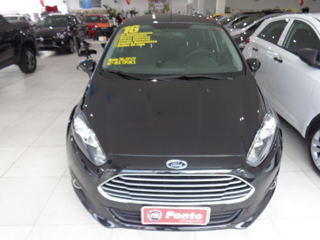FORD FIESTA 2016 - 1.6 SE HATCH 16V FLEX 4P POWERSHIFT