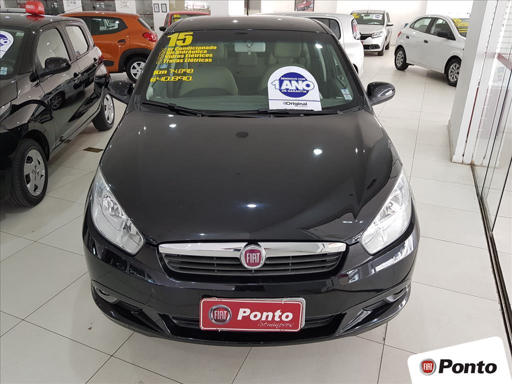 FIAT GRAND SIENA 2015 - 1.6 MPI ESSENCE 16V FLEX 4P MANUAL