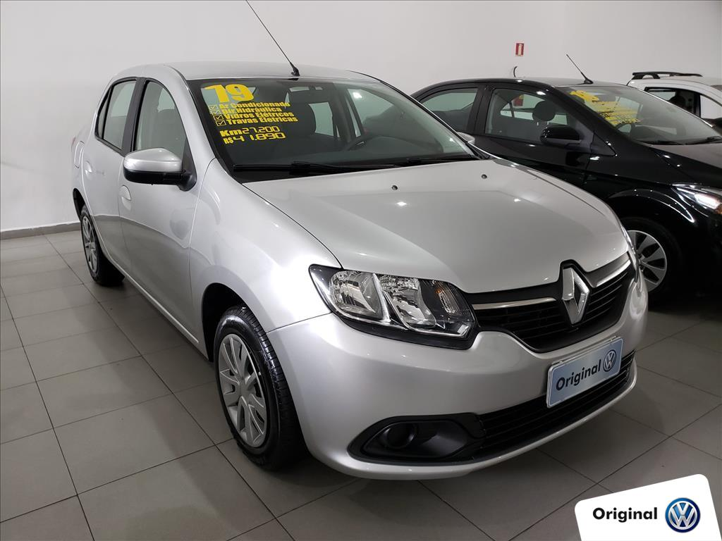 RENAULT LOGAN 2019 - 1.6 16V SCE FLEX EXPRESSION 4P MANUAL