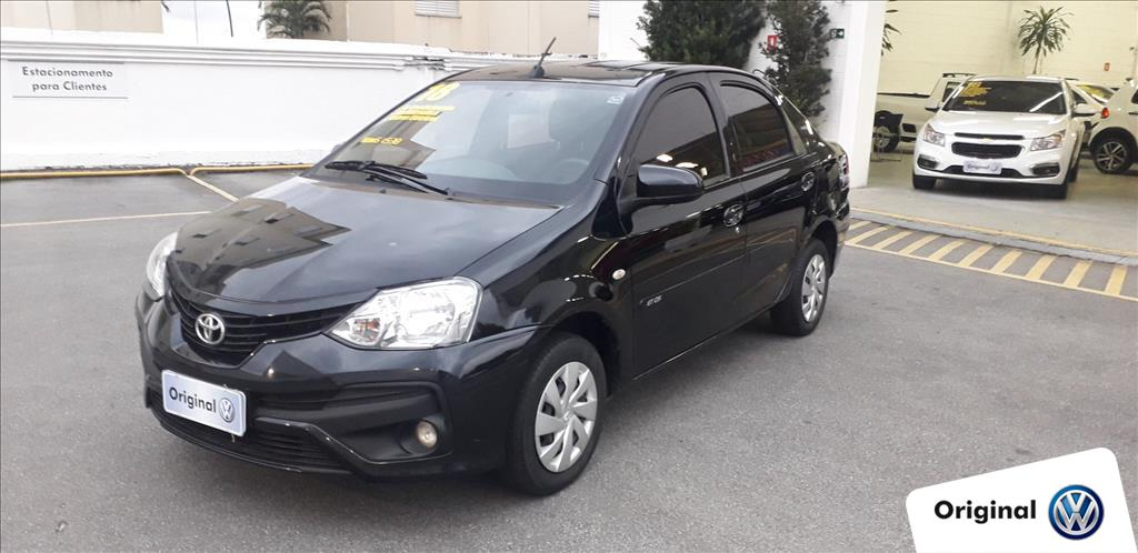 TOYOTA ETIOS 2018 - 1.5 X SEDAN 16V FLEX 4P MANUAL