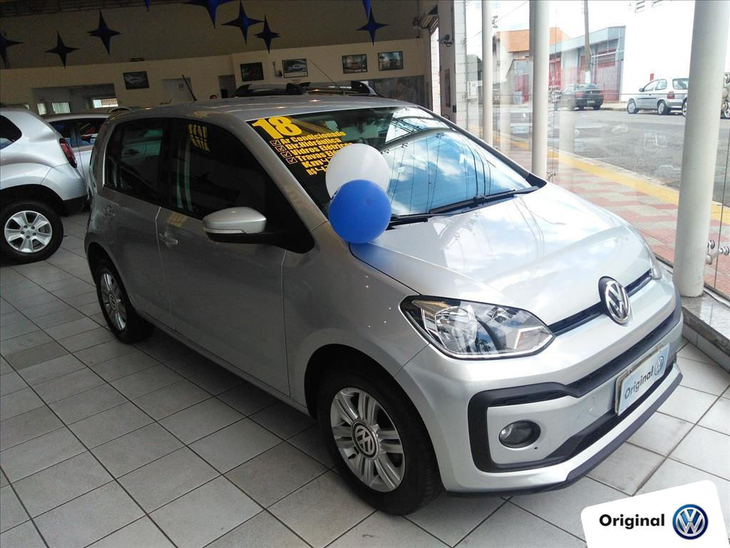 VOLKSWAGEN UP 2018 - 1.0 MPI MOVE UP 12V FLEX 4P AUTOMATIZADO